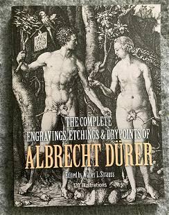 ALBRECHT DÃœRER. COMPLETE ETCHINGS & DRY POINTS