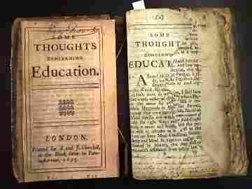 1693 Some Thoughts Concerning Education Locke