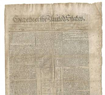 1790 Gazette of the United States National Assembly