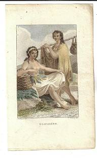 1802 Colored Engraving Portman and Kuyper Ulitheers