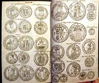 1745 Account of English Gold Silver Money Engravings