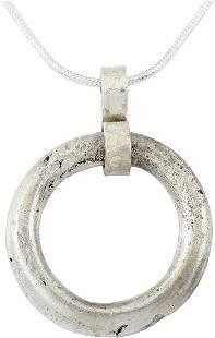 CELTIC PROSPERITY RING NECKLACE, C.400-100BC