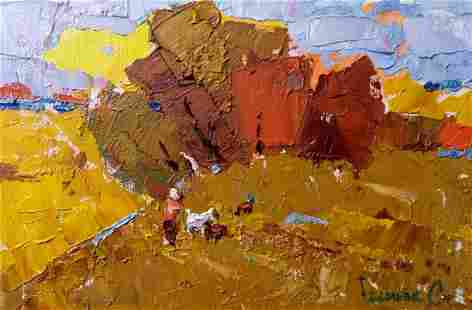 Oil painting Morning Kalenyuk Alex