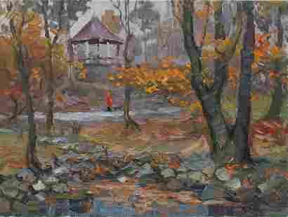Oil painting Stunning fall S. Dirtorak