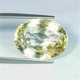 26.90 Ct Natural Citrine Oval Cut