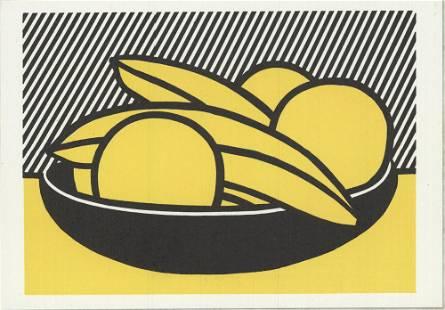 Lichtenstein, Roy: Roy Lichtenstein - Bananas and