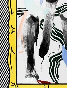 Lichtenstein, Roy: Roy Lichtenstein - Brushstrokes -