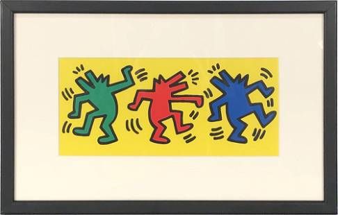 Haring, Keith: Keith Haring - Dance - 1998 Offset