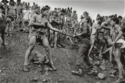 SEBASTIAO SALGADO - Dispute Among Workers and Police