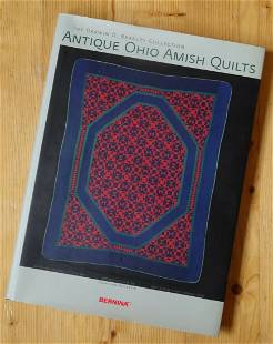 Book, Antique Ohio Amish Quilts the Darwin D. Bearley