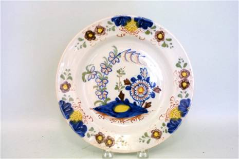 A good 18th century London delft fried egg pattern