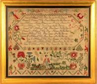 Family Record Sampler- Eliza C. McCullow of Tuckerton