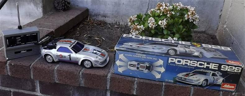 Schuco Porsche 928, Made in Germany 1970's ,radio