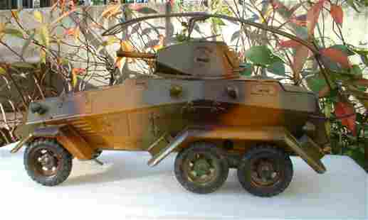"1937 Lineol ""Panzerspahwagen"" 1210, windup"