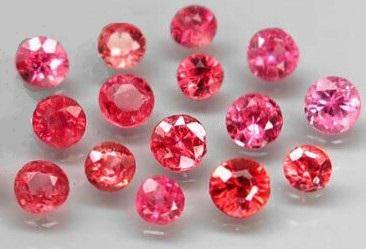 Lot of 15 Natural Color Fancy Sapphire Round Cut