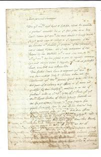 1685 English Manuscript Popish Rebellion James II