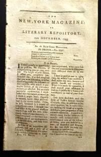 1795 Magazine George Washington Address to Congress