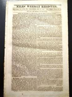1827 Newspaper Liberia New Orleans San Francisco