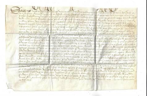 17th C Dutch Manuscript on Vellum Amand