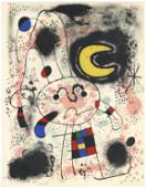 Joan Miro original lithograph, 1953