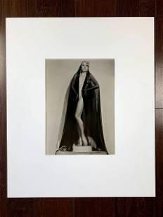 Famous Burlesque Stripper & Actor Faith Bacon -