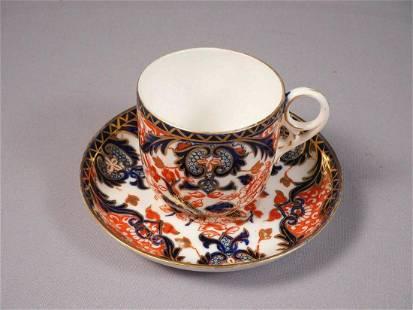 ROYAL CROWN DERBY KINGS IMARI Coffee Tea cup Saucer set