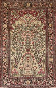 Pre-1900 Antique Vegetable Dye Kerman Lavar Persian