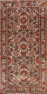 Antique Vegetable Dye Bakhtiari Persian Area Rug 5x10