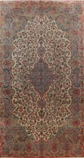 Antique 100% Vegetable Dye Kerman Persian Area Rug