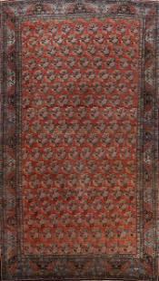 Antique 100% Vegetable Dye Bidjar Persian Area Rug