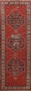 Antique Vegetable Dye Malayer Persian Runner Rug 3x11