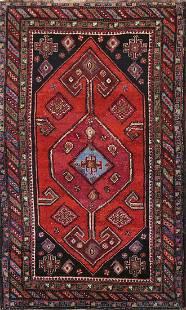Pre-1900 Antique Vegetable Dye Afshar Persian Area Rug