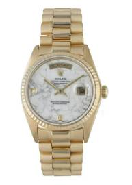 Rolex Day Date President 18038 Marble Diamond Dial