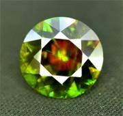 Top Quality Sphene Titanite Gemstone, Full Fire, Eye