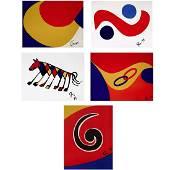 Alexander Calder-Braniff Airlines Flying Colors Suite
