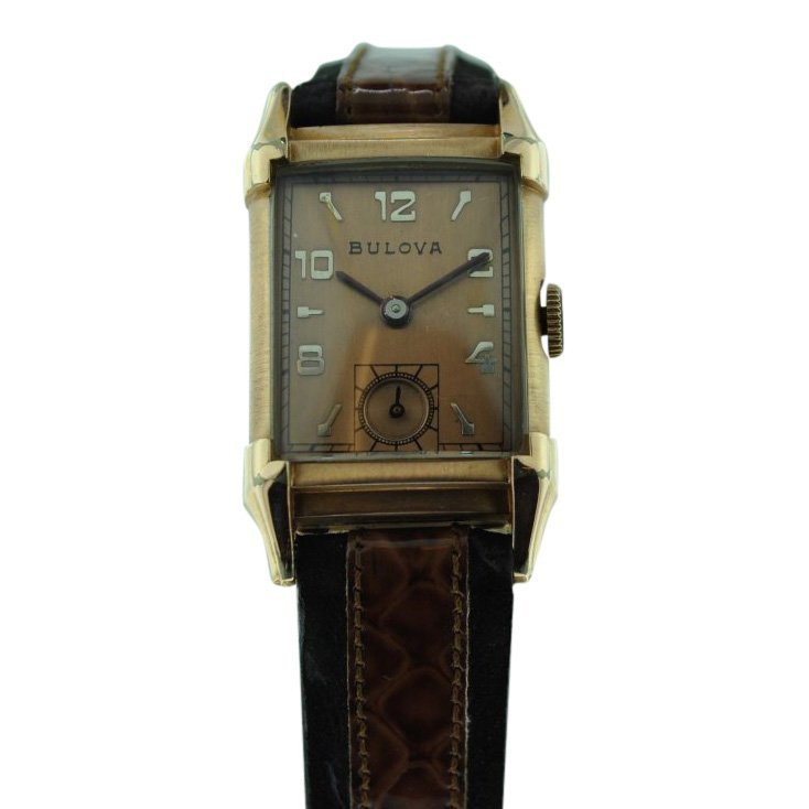 Bulova Pink Gold-Filled Manual Wind Watch, 1930's
