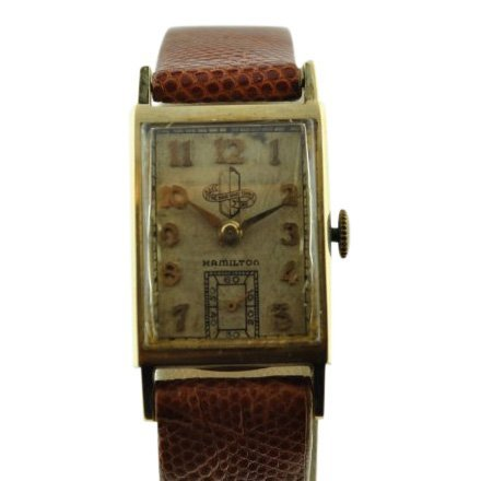 Hamilton 14K Solid Gold Watch, 1950's