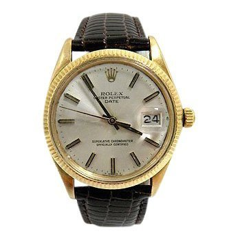 Rolex Oyster Perpetual Gold Bezel, 1980
