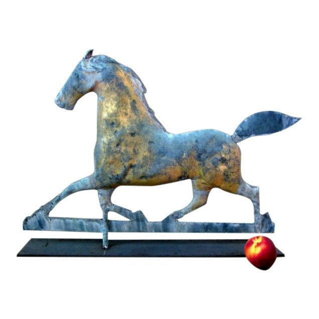 Early Trotting Horse Weathervane