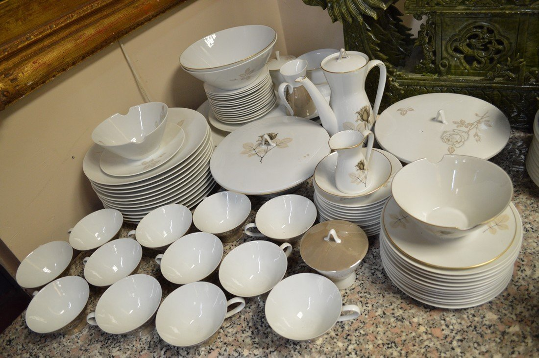Rosenthal Germany Classic Rose China 79 Piece Set - 2