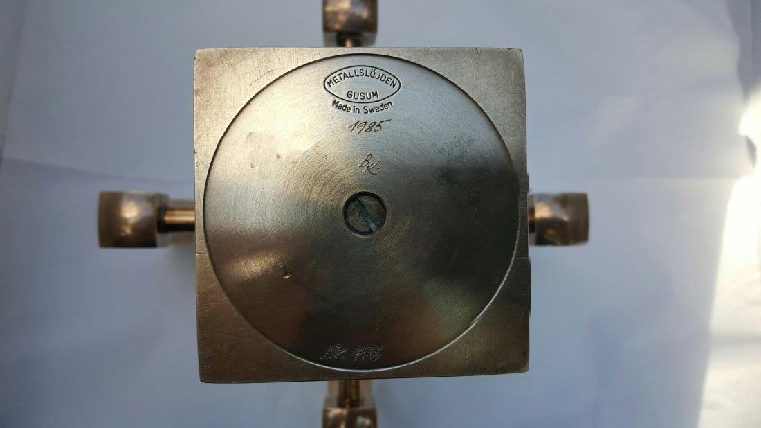 Swedish Brass Candelabra by Lars Bergsten - 2