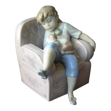 Lladro: Naptime Friends