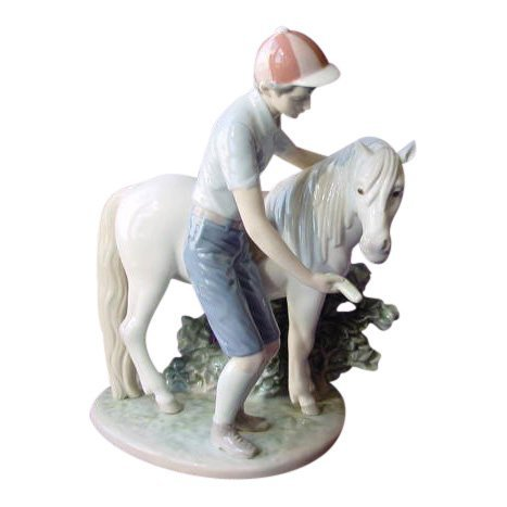 Lladro: A Boy and his Pony