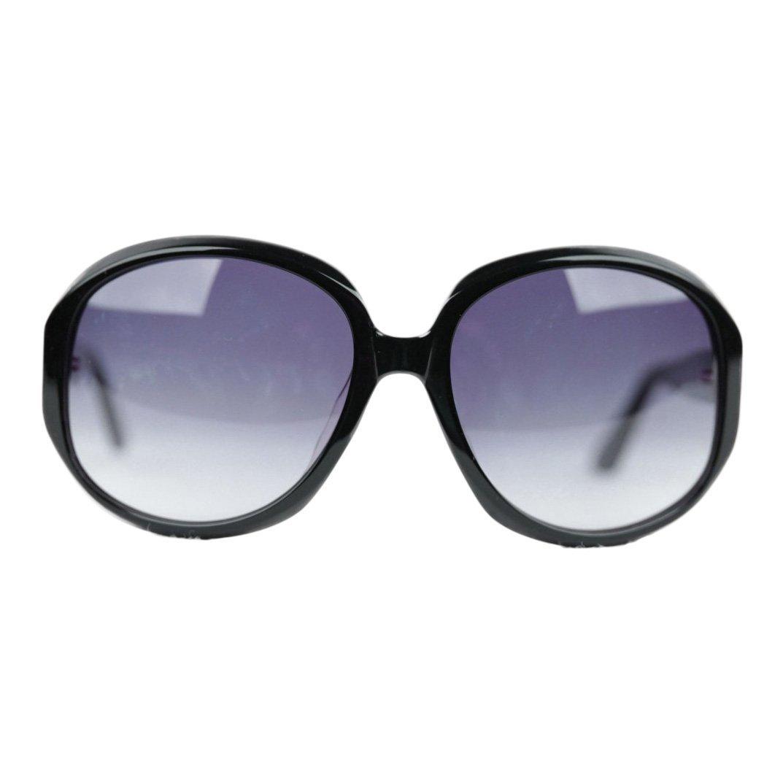 Romeo Gigli Black Oversized Sunglasses