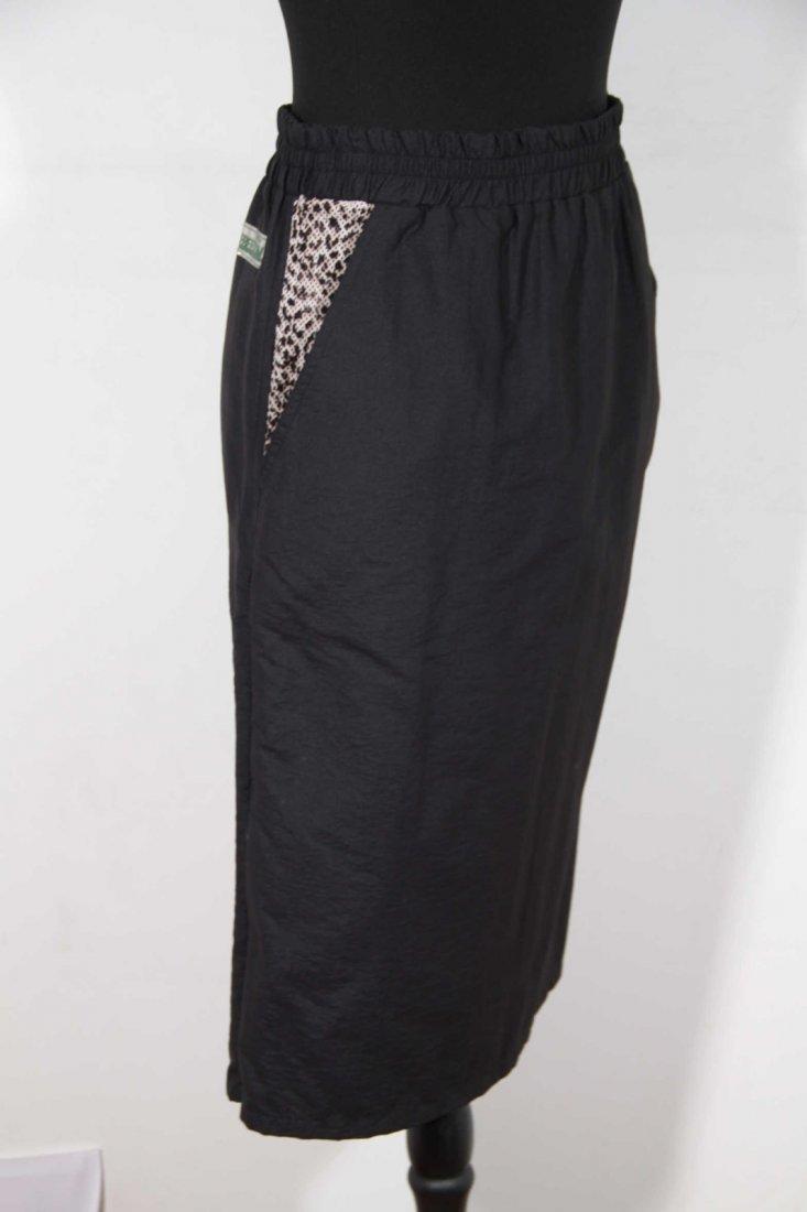 Roberto Cavalli Freedom Leopard Panelled Pencil Skirt - 2