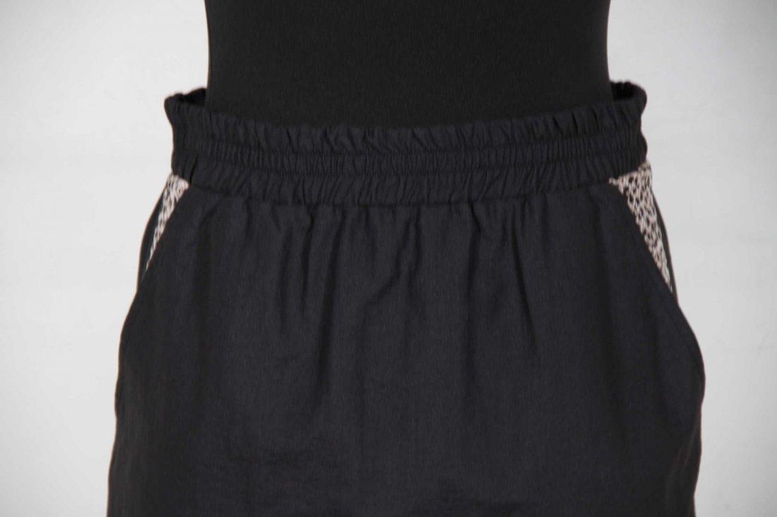 Roberto Cavalli Freedom Leopard Panelled Pencil Skirt - 6