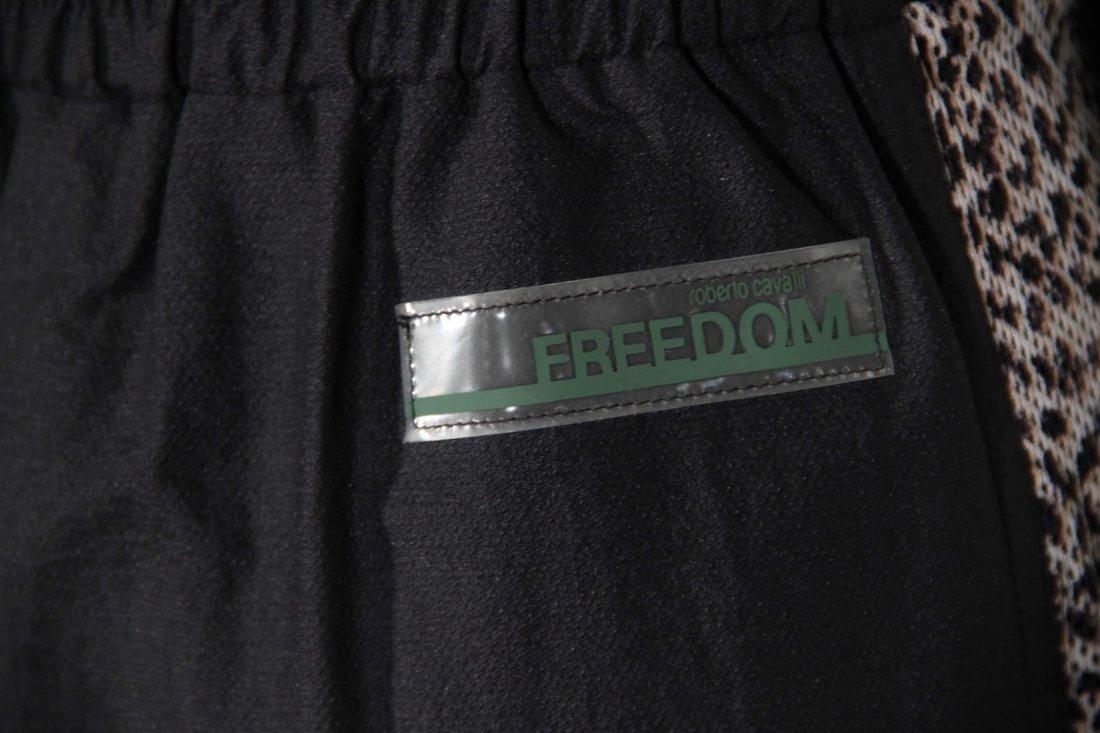 Roberto Cavalli Freedom Leopard Panelled Pencil Skirt - 7