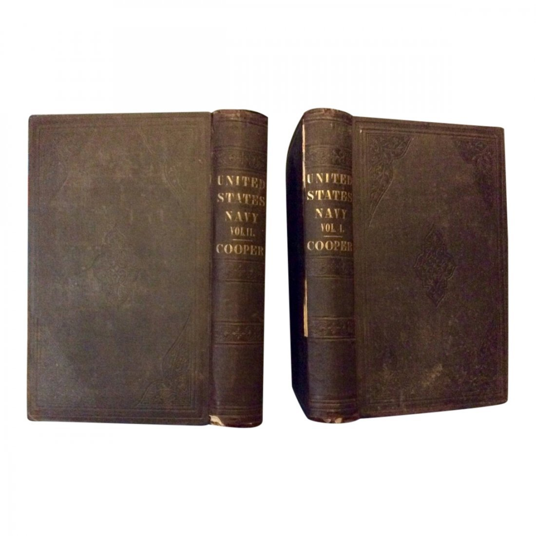 Two Volume History of the US Navy, 1839