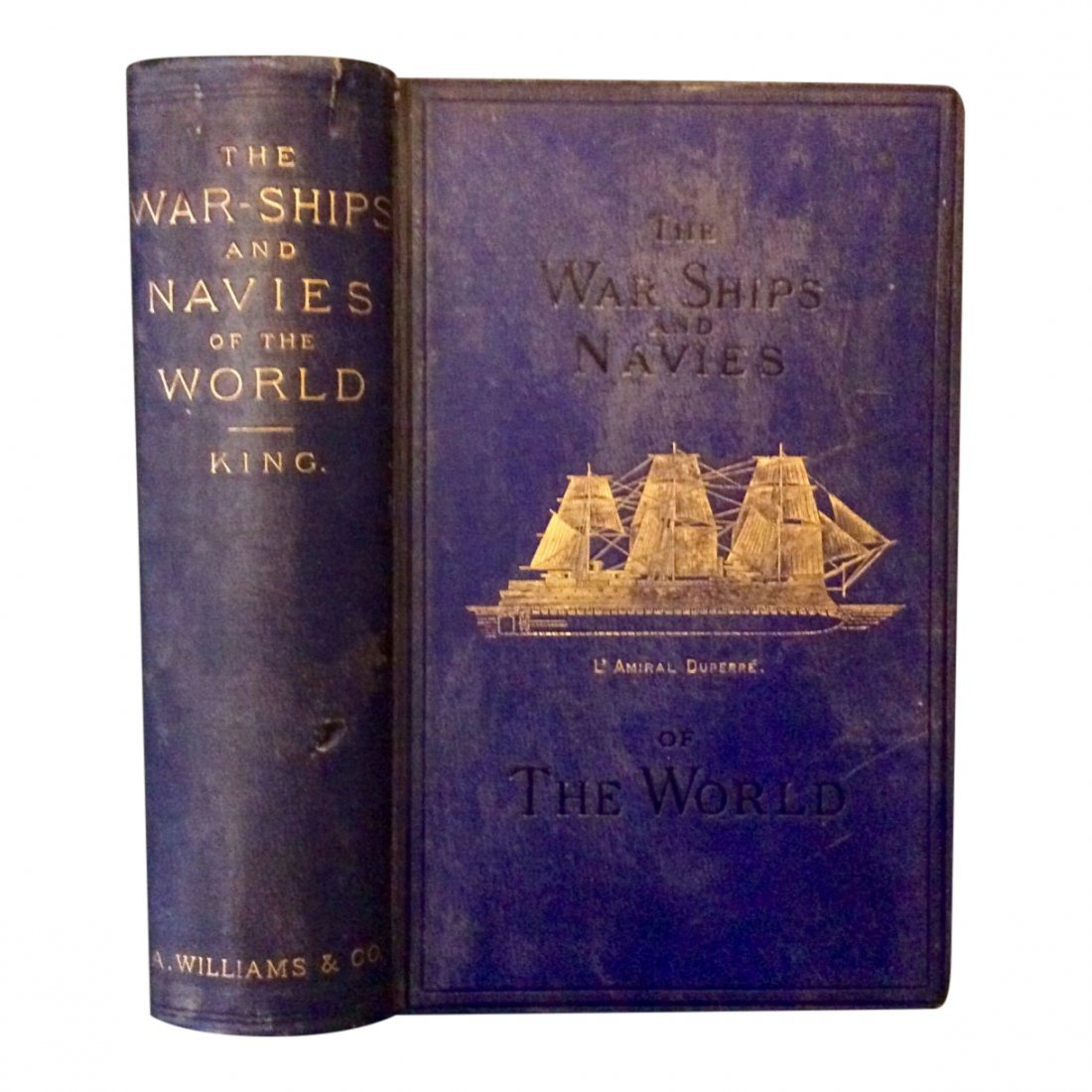 The Warships & Navies of the World, 1880