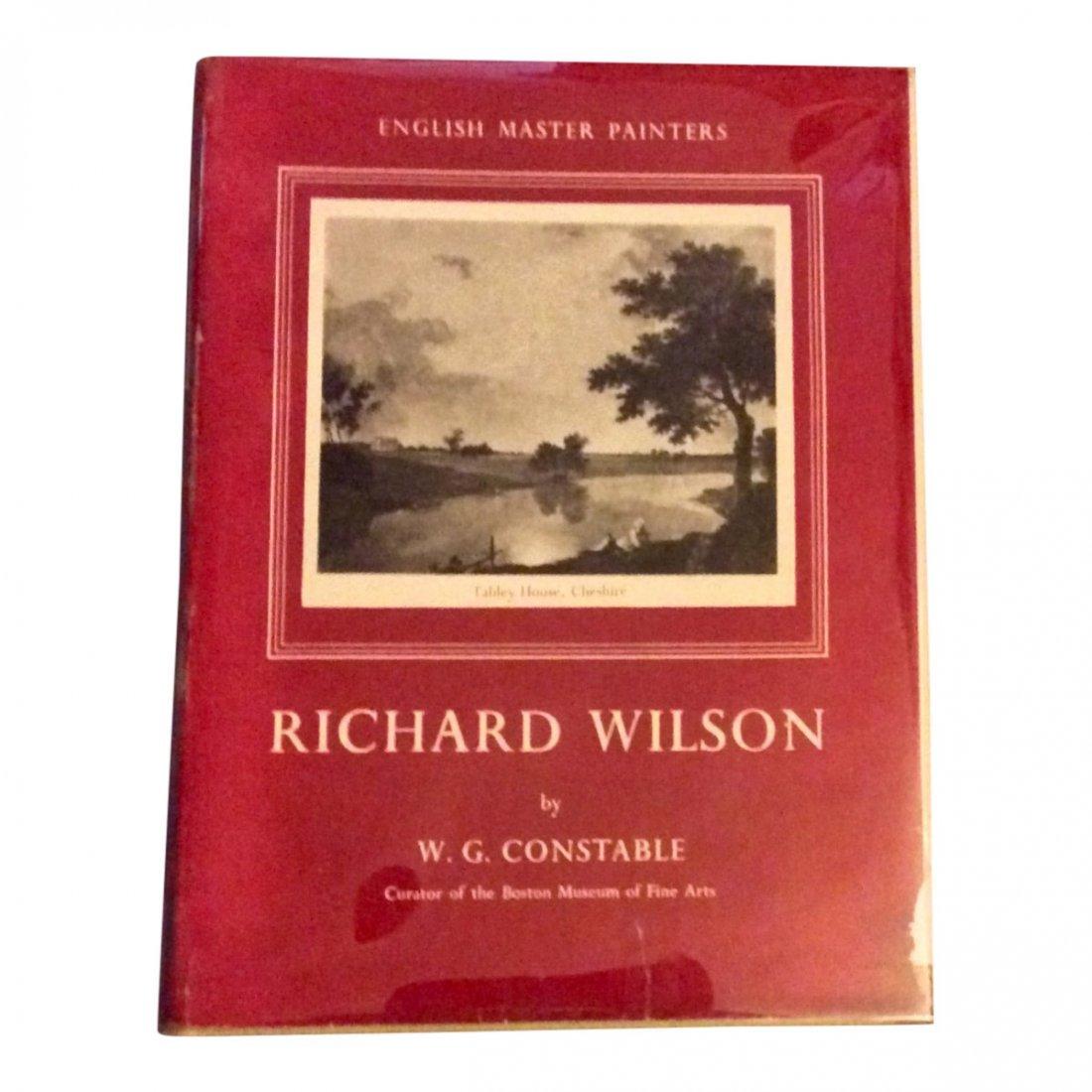 Vintage Biography of Painter Richard Wilson, 1953